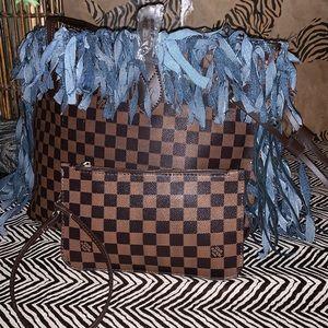 Handbags - Unique Designs by Minx LV Neverfull Ebene Bag